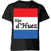 Summit Finish Alpe D'Huez Kids' T-Shirt - Black - 7-8 Years - Black