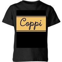 Summit Finish Fausto Coppi Kids' T-Shirt - Black - 9-10 Years - Black
