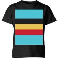 Summit Finish Belgium Flag Kids' T-Shirt - Black - 9-10 Years - Black