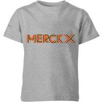 Summit Finish Merckx - Rider Name Kids' T-Shirt - Grey - 11-12 Years - Grey