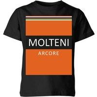 Summit Finish Molteni Kids' T-Shirt - Black - 11-12 Years - Black