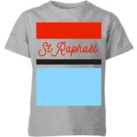 Summit Finish St Raphael Kids' T-Shirt - Grey - 3-4 Years - Grey
