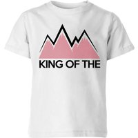 Summit Finish King Of The Mountains Kids' T-Shirt - White - 7-8 Years - White