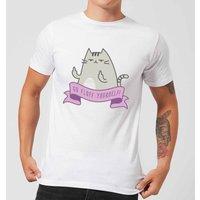 Go Fluff Yourself! Mens T-Shirt - White - 3XL - White