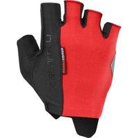 Castelli Rosso Corsa Espresso Gloves - XL - Red