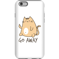 Go Away Phone Case for iPhone and Android - iPhone 6S - Tough Case - Matte