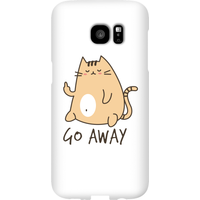 Go Away Phone Case for iPhone and Android - Samsung S7 Edge - Snap Case - Gloss