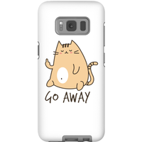 Go Away Phone Case for iPhone and Android - Samsung S8 - Tough Case - Gloss