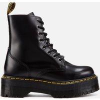 Dr. Martens Jadon Polished Smooth Leather 8-Eye Boots - Black - UK 3