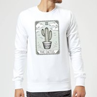 Barlena The Cactus Sweatshirt - White - M - White