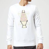 Barlena Hot Mess Sweatshirt - White - XL - White