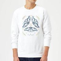Barlena Fairy Dance Sweatshirt - White - L - White - Dance Gifts