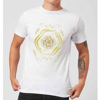 Barlena Snakes Men's T-Shirt - White - 5XL - White