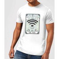 Barlena The Wifi Mens T-Shirt - White - XXL - White
