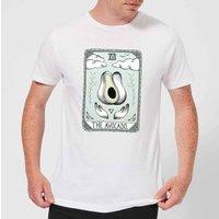 Barlena The Avocado Mens T-Shirt - White - XL - White