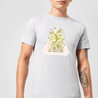 Barlena Pineapple Mens T-Shirt - Grey - 3XL - Grey