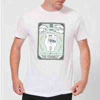 Barlena The Feminist Mens T-Shirt - White - M - White