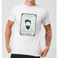 Barlena The Hipster Men's T-Shirt - White - 5XL - White