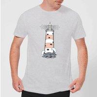 Barlena Eye See Start Mens T-Shirt - Grey - 3XL - Grey
