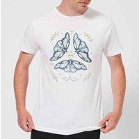 Barlena Fairy Dance Men's T-Shirt - White - L - White - Dance Gifts