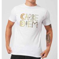 Barlena Carbe Diem Men's T-Shirt - White - 3XL - White