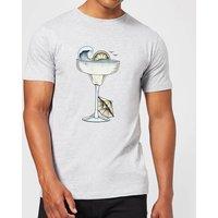 Barlena Summer Cocktail Men's T-Shirt - Grey - L - Grey