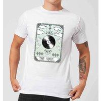 Barlena The Vinyl Men's T-Shirt - White - M - White