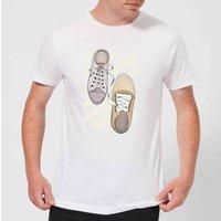 Barlena Tied To You Men's T-Shirt - White - 4XL - White