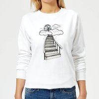 Barlena To The Moon and Back Women's Sweatshirt - White - M - White