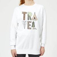 Barlena Travel Women's Sweatshirt - White - L - White