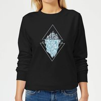Barlena Iceberg Women's Sweatshirt - Black - XS - Black