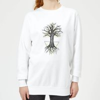 Barlena Fortitude Women's Sweatshirt - White - L - White