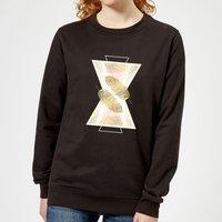 Barlena Feather Women's Sweatshirt - Black - XL - Black