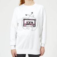 Barlena Mixtape Women's Sweatshirt - White - XS - White