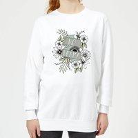 Barlena No Drama Women's Sweatshirt - White - XL - White