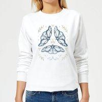 Barlena Fairy Dance Women's Sweatshirt - White - XXL - White - Dance Gifts