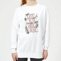 Barlena Less To-Do More Ta-Da Women's Sweatshirt - White - XS - White