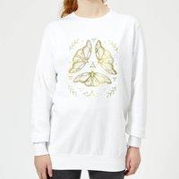 Barlena Fairy Dance Women's Sweatshirt - White - L - White - Dance Gifts
