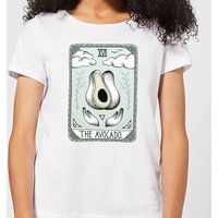 Barlena The Avocado Women's T-Shirt - White - M - White