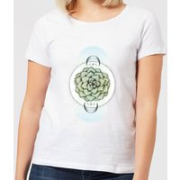 Barlena Sempervivum Women's T-Shirt - White - M - White