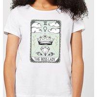 Barlena The Boss Lady Women's T-Shirt - White - S - White