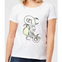 Barlena Forbidden Fruit Women's T-Shirt - White - M - White