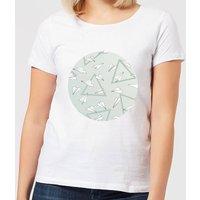 Barlena Paper Planes Women's T-Shirt - White - M - White