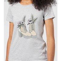 Barlena Fresh Start Women's T-Shirt - Grey - S - Grey