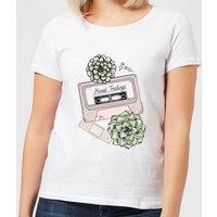 Barlena Mixed Feelings Women's T-Shirt - White - 5XL - White