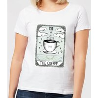 Barlena The Coffee Women's T-Shirt - White - XL - White