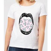 Barlena I Want More Women's T-Shirt - White - XXL - White