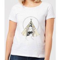 Barlena Into The Wild Women's T-Shirt - White - M - White