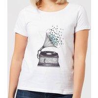 Barlena Escape Women's T-Shirt - White - S - White