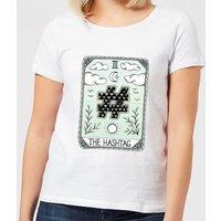 Barlena The Hashtag Women's T-Shirt - White - XXL - White